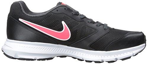 Nike Sneaker Wmns Downshifter 6 Schwarz (Black/Hyper Punch-Anthracite)