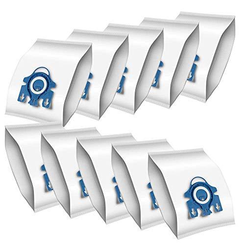 Newdora 10 PACK 9 Schichten der Filtration Stielsaugerbeutel für Miele S2, S5, S8, Classic C1, Complete C2 und Complete C3 Modelle