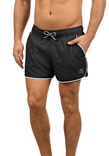 Blend Balderian Bañador De Natación Short para Hombre, tamaño:M, Color:Black 70155