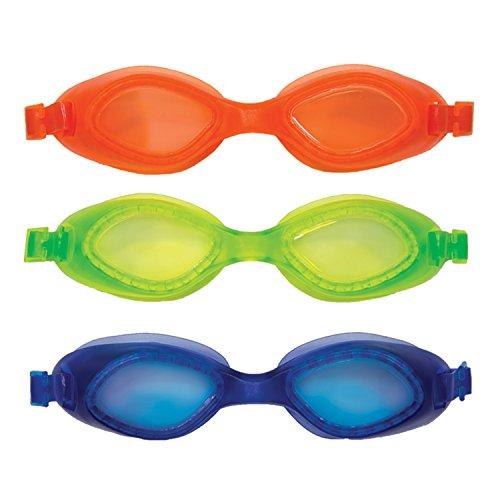 Swim Ways Fisch Face tarpun Trainer Kinder Schwimmen Schwimmbrille-3er Pack