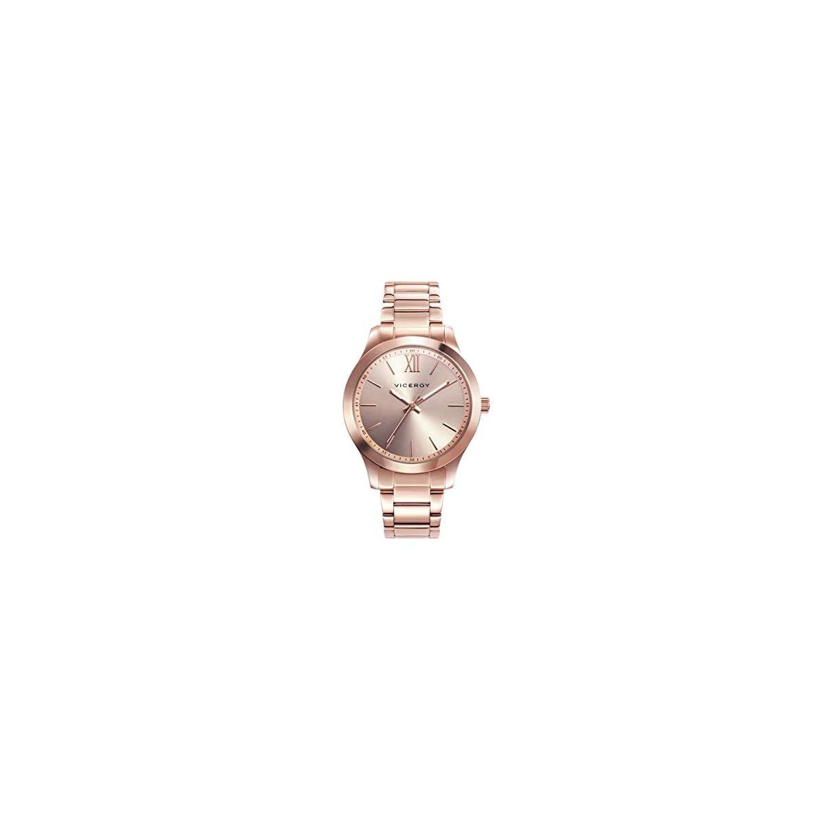 41XkNxpWPrL. SS1200  - Viceroy 401068-93 - Reloj para Mujer Acero IP Oro Rosa