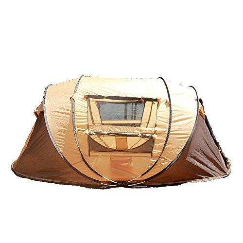 ysayc 5–6Zelte Automatische Familie Travel Beach Camping Zelten Gelb