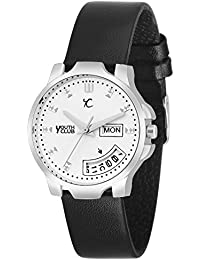 Youth Club LDD-009WHT New Black And White good look day Date Watch For Girls