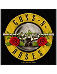 Guns 'N 'roses parche–Gnr Bullet Logo–Guns' N 'roses Patch–tejida & licencia oficial..