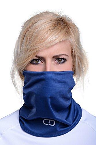 Dany Loop, fonction écharpe bandany écharpe chiffon Bleu - Bleu