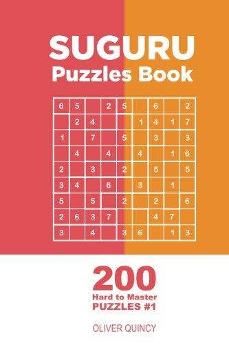 Price comparison product image Suguru - 200 Hard to Master Puzzles 9x9 (Volume 1)
