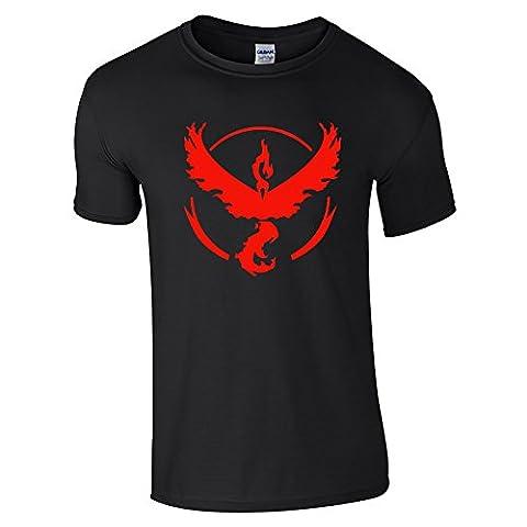 Pokemon Go Team Valor T-shirt pour homme,