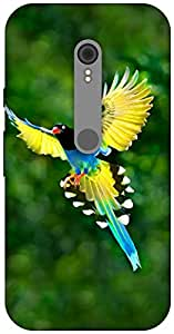 The Racoon Grip Birdie! hard plastic printed back case / cover for Motorola Moto G Turbo