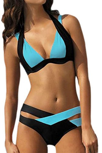 happy-sailed-womens-criss-cross-bandage-push-up-color-block-sexy-bikini-swimsuit-x-large-blue
