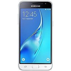 Samsung Galaxy J3 2016 DUOS Smartphone débloqué 4G (Ecran: 5 Pouces - 8 Go - Double Micro Sim - Android Lollipop 5.1) Blanc (import Allemagne)