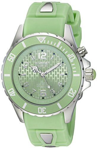 KYBOE Unisex-Adult Analogue Quartz Watch with Silicone Strap KY.40-042.15