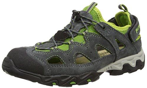 Meindl Kinder Schuhe Rudy Junior 2056 Grau/Grün 38