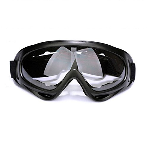 Glield Jagd Airsoft Motocross Mtb ATV / Dirtbike Off Road Racing Schutzbrille -Motorrad Brille YJ01 (clear)
