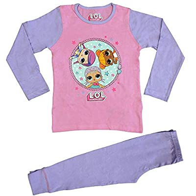 LOL Surprise Dolls Pyjamas for Girls Soft Cotton PJ Set : everything five pounds (or less!)
