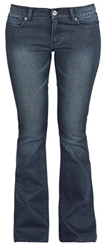 R.E.D. by EMP Grace (Boot-Cut) Jeans donna blu scuro W28L32