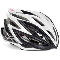 Spiuk Dharma - Casco de ciclismo, color negro / blanco, talla 53 - 61