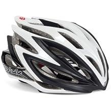 Spiuk Dharma - Casco de ciclismo, color negro / blanco, talla 51 - 56