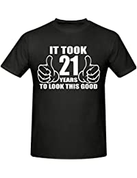 IT TOOK 21 YEARS TO LOOK THIS GOOD T SHIRT, SIZES SMALL-XXXL (ANY YEAR)