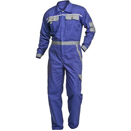 Arbeitsoverall Charlie Barato® Profi Line  kornblau/grau - Overall für Handwerker Größe 54