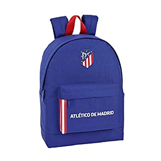 "41XkdQYveKL. SS324  - Atlético de Madrid ""In Blue"" Oficial Mochila Juvenil 325x150x430mm"