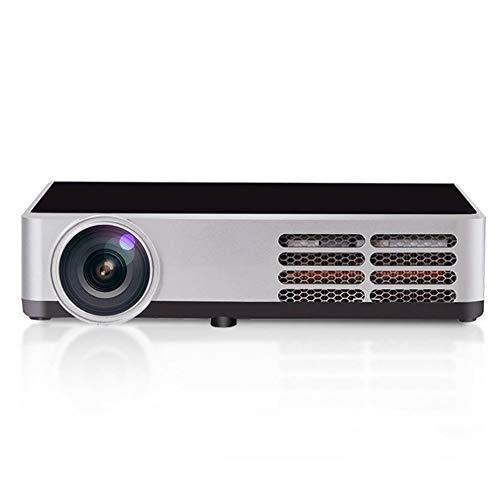 Proiettore, DLP 3D HD 4K-Proiettore Portatile Intelligente, Telefono Cellulare Wireless Con WIFI Dual-band(2.4G/5G), Compatibile Con HDMI VGA AV USB e Altri Dispositivi, Home Theater Intelligente