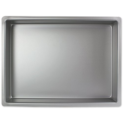 Rechteckige Tiefe Backform (PME Längliche Aluminium-Backform 304 x 457 x 102 mm)
