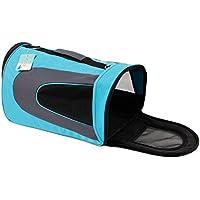 Easy Go Shopping Bolso portátil para mascotas Bolso de mascota transpirable de malla honda Cachorro Tote Bag (Size : S)