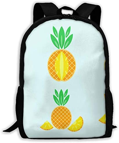 Adult Casual Backpack School School School Bags Oxford Laptop Backpack Unisex Pineapple Travel Daypack | Primi Clienti