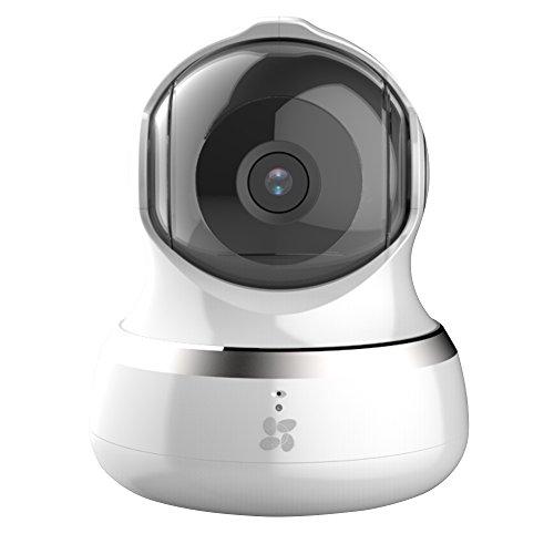 Ezviz C6B 960p HD WLAN Schwenk-/Neige-Kamera mit Nachtsicht, Mikrofon und Lautsprecher, Geräuschlokalisierung Tracking, Smart Privacy Mask, weiß