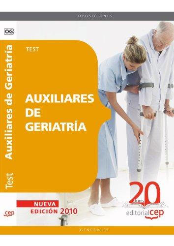 Auxiliares de Geriatría. Test (Colección 68) por Sin datos