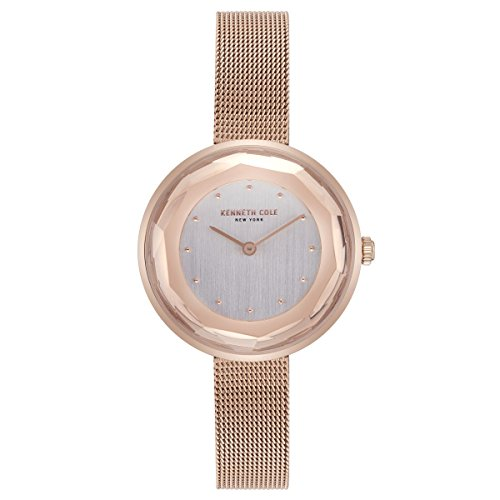 Kenneth Cole Womens Analogue Quartz Watch with Stainless Steel Strap KC50204003