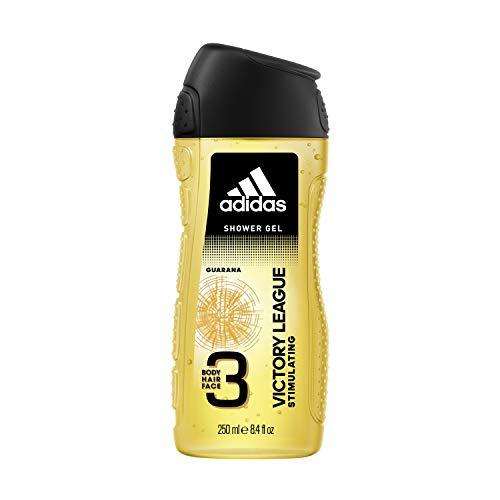 adidas Victory League 3in1 Duschgel für Herren, 6er Pack (6 x 250 ml) -