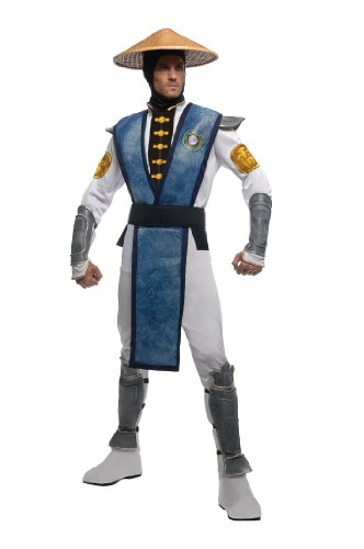 Mortal Kombat Raiden Kostüm für Erwachsene - XL (Halloween-kostüme-mortal Kombat)