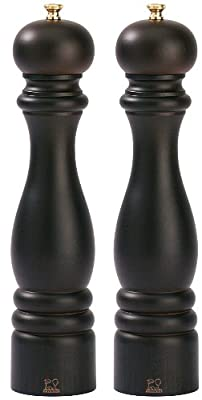 Peugeot Set Paris Pepper Mill and Salt Mill 30 cm Chocolate Colour by Peugeot