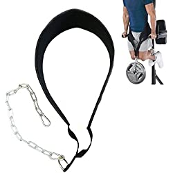 Gymforward Dip Belt with Chain Weightlifting Waist Support Belt Body Building Gym Workout Exercise Pull Up Chain Dipping Belt by Gymforward