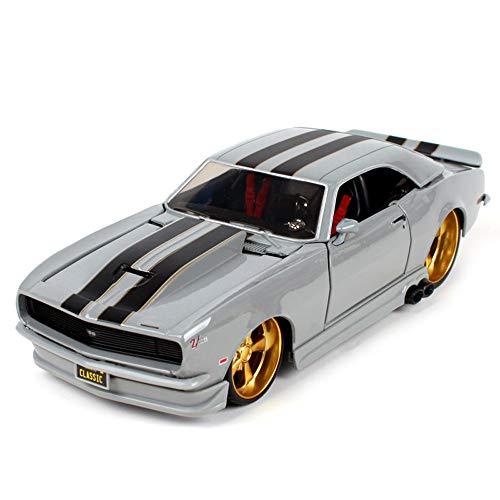 Alloy Car Model - Erwachsene Kollektion/Kinderspielzeug, 1:24 Originaldaten Druckguss Geschenk/Dekoration,C