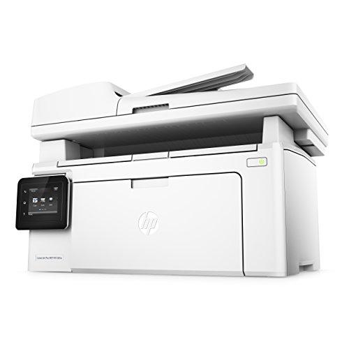 HP LaserJet Pro M130fw Laserdrucker Multifunktionsgerät (Drucker, Scanner, Kopierer, Fax, WLAN, LAN, Apple Airprint, HP ePrint, JetIntelligence, USB, 600 x 600 dpi) weiß - 9