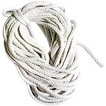 Polyesterseil Polyester Seil 8mm 10m Schwarz Geflochten PES Tauwerk Leine