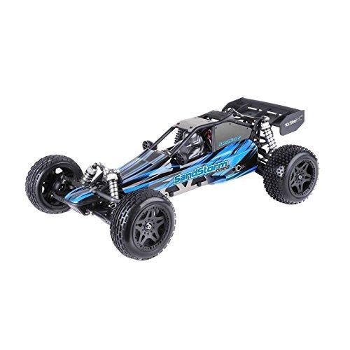 XciteRC 30205000 - Ferngesteuertes RC Auto SandStorm one8 - 2WD RTR Dune Buggy Brushed Modellauto, blau*