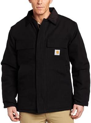 Carhartt en's Arctic Quilt ined Duck Traditional Coat C003,Black,edium