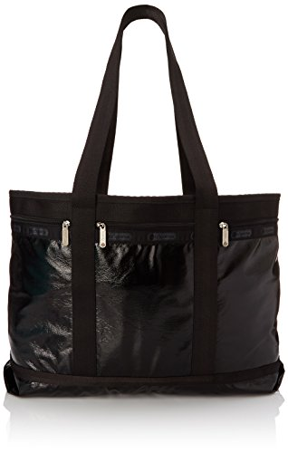 lesportsac-medium-travel-tote-black-crinkle-patent