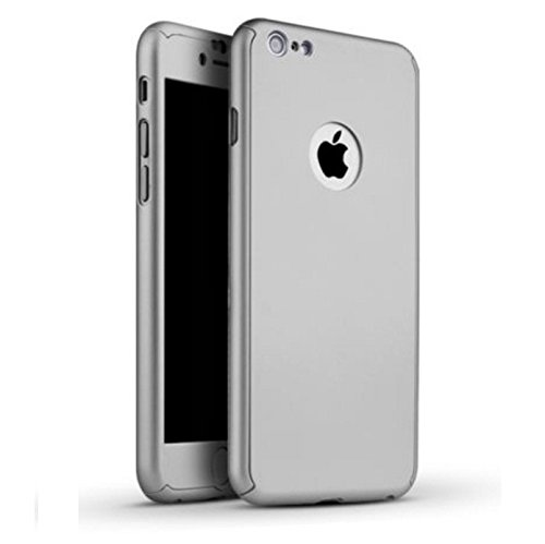 Cell Planet's iPacky Front & Back Case for Apple iPhone 6 Plus, Apple iPhone 6s Plus Silver...
