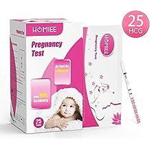 HOMIEE Kits de Tests de Ovulación y Fertilidad,Pruebas de Embarazo para Deteccion Temprana,