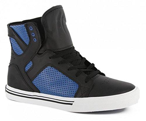 SUPRA Skateboard Schuhe Skytop Kids Blau/Schwarz, Schuhgrösse:32