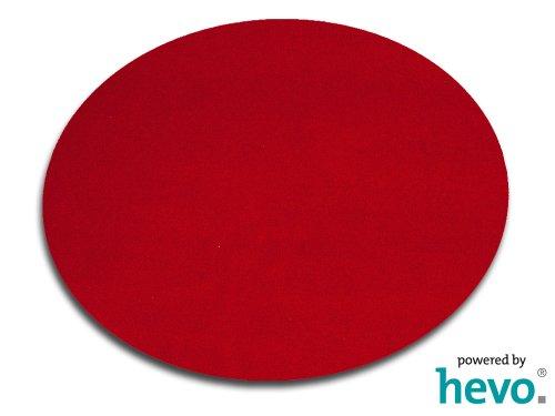 Amigo rot HEVO ® Teppich | Kinderteppich | Spielteppich 200 cm Ø Rund