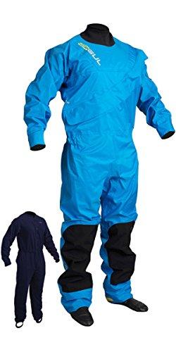 GUL 2018 Junior Dartmouth Eclip Zip Drysuit Blue GM0378-B3