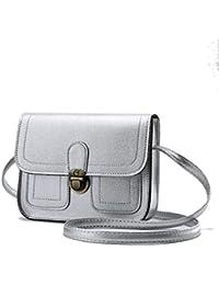 85663218ac Parabler Mini borsa a tracolla della borsa carina di stile vintage moda  donna Borse a tracolla