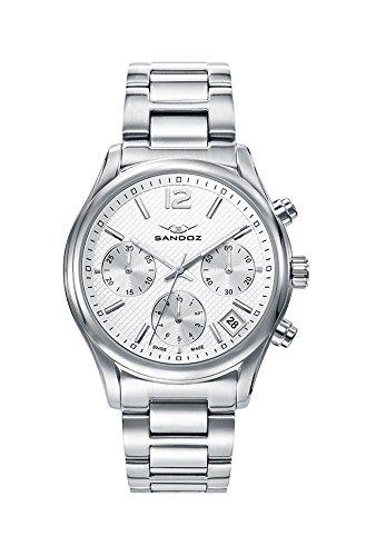 Reloj Sandoz Acero Cronógrafo Caballero 81427-15