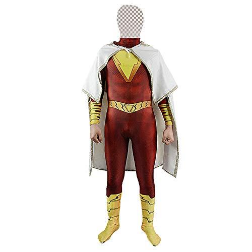 NDHSH Magische Captain Cosplay Kostüm Kind Erwachsene Halloween Overall Onesies Maskerade Party Prop Kleidung Thema Parteien Geschenk,Child-L (Kids Parteien Halloween-spiele Für)