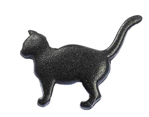 Miniblings Katze Brosche Katzenbrosche Pin Button Anstecker Cat Anstecknadel